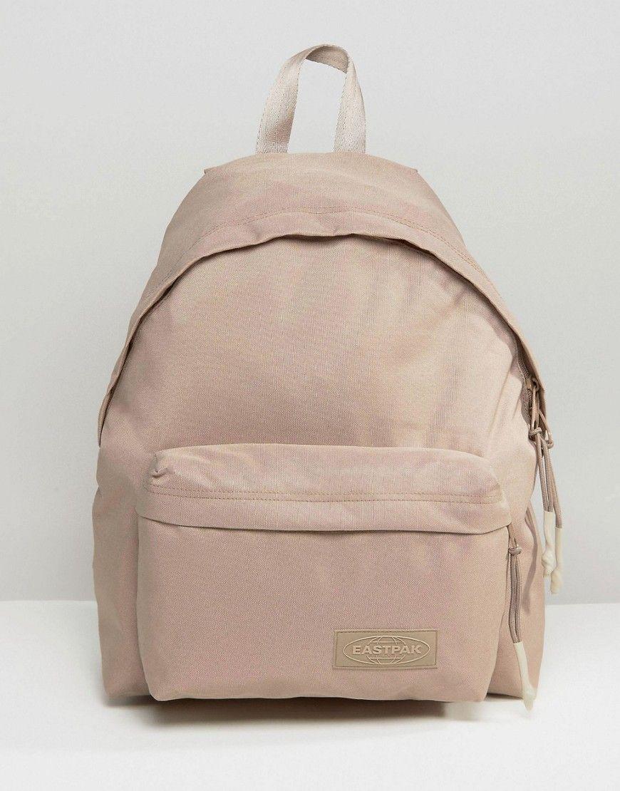 bfb0d09ef4f Eastpak Wyoming Beige Backpack | School Bags | Beige backpacks ...