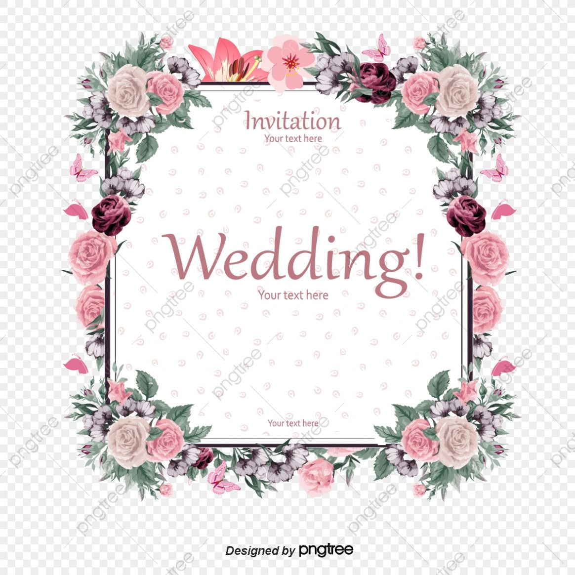 Download Wedding Card Flower Images Download Wedding Card Flower