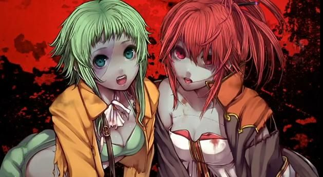 Vocaloid Rotten Rotten Zombie Red Hair Vocaloid Vocaloid Zombie Girl