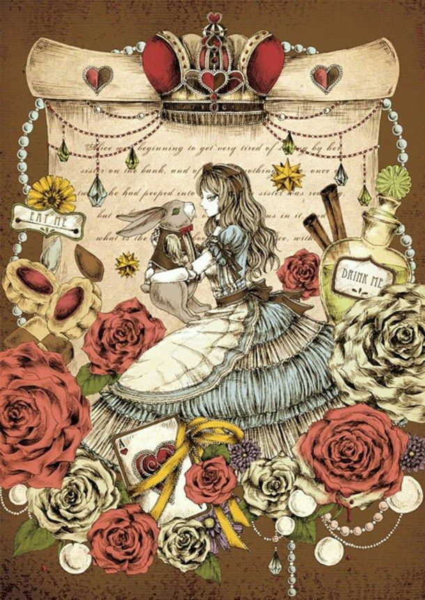 Alice In Wonderland Art Disney Pinterest Alice In Wonderland