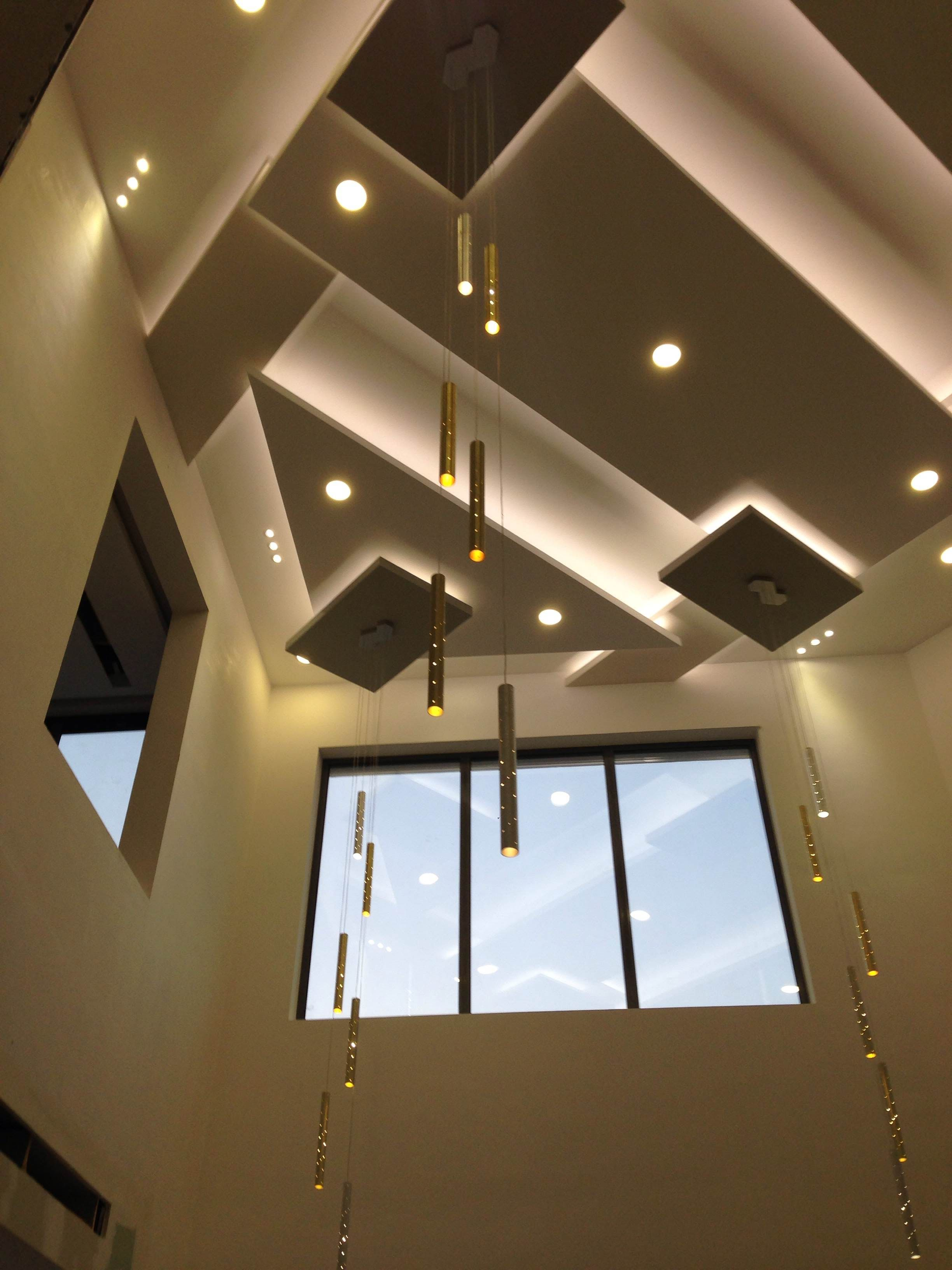 Heavy Rain Light Drops Muscat Oman Ceiling Design Bedroom | Staircase False Ceiling Design | Hallway | Office | Duplex | Veneer Design | Simple
