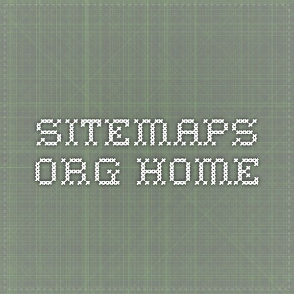 sitemaps.org - Home