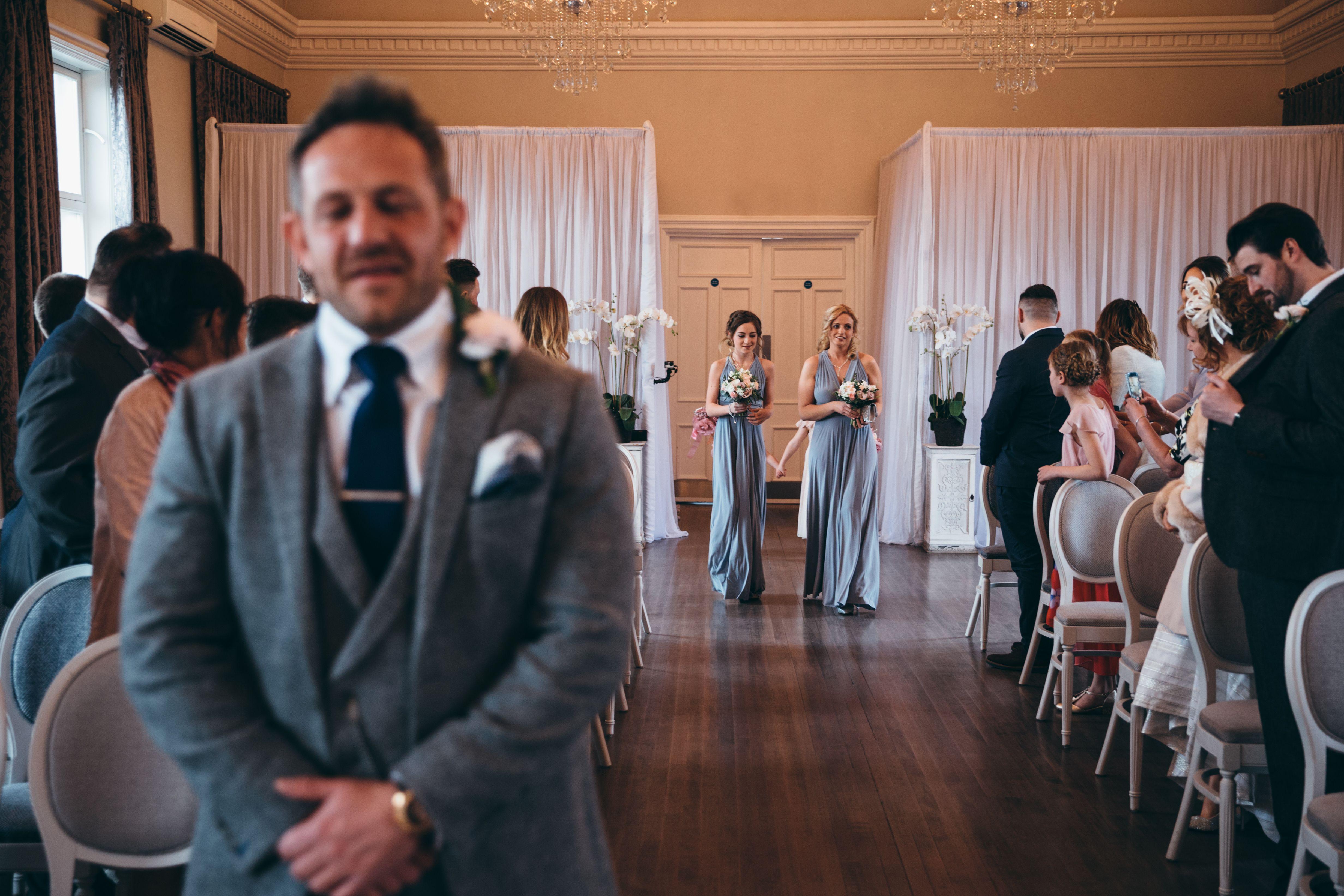 Bridesmaids dress Derby England wedding photographer | Bridesmaids ...