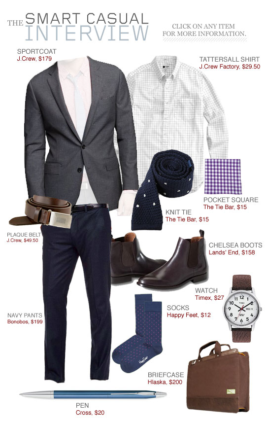 df5d8cac7ea The Smart Casual Interview Interview Outfits