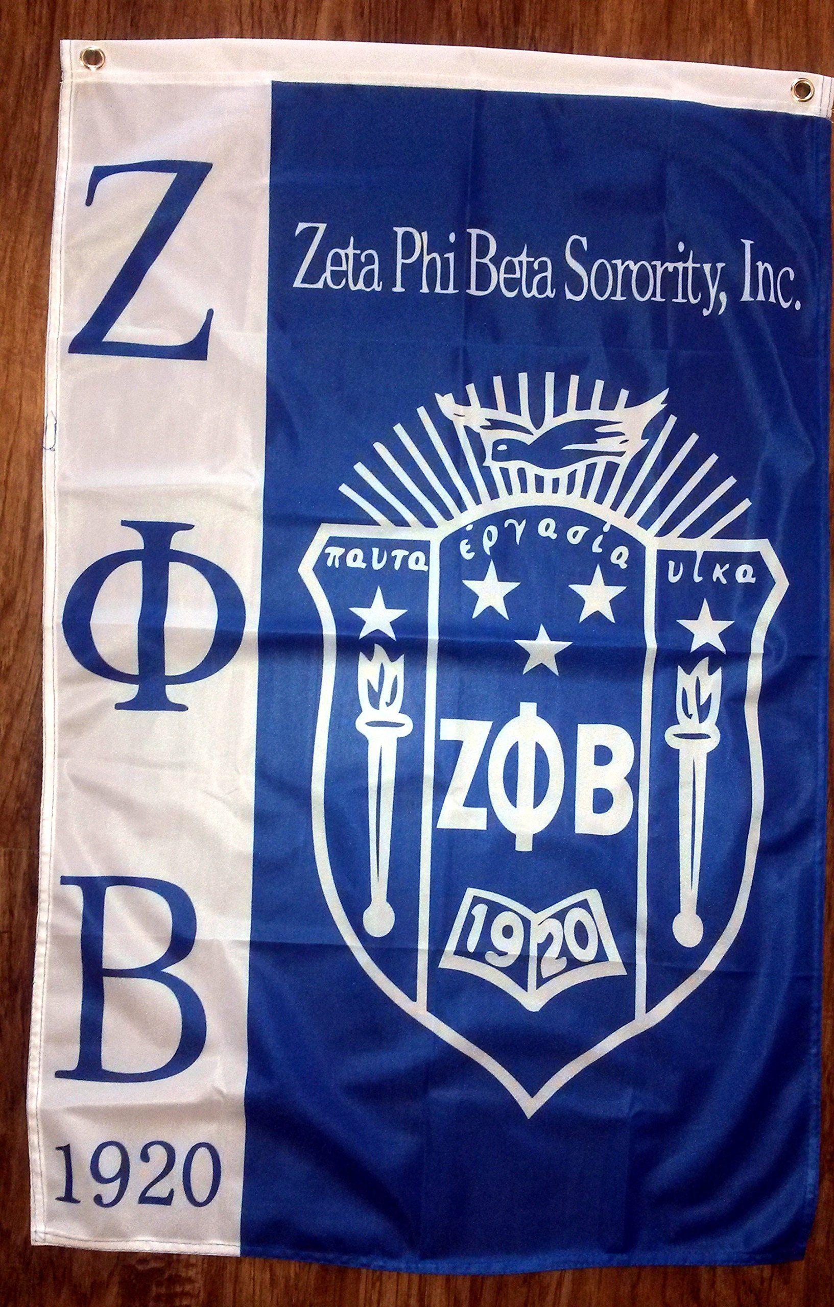 Zeta phi beta flag black greeks paraphernalia pinterest zeta zeta phi beta flag buycottarizona