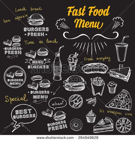 Restaurant cafe menu, template design Food flyer Snack Pinterest - Cafe Menu Template