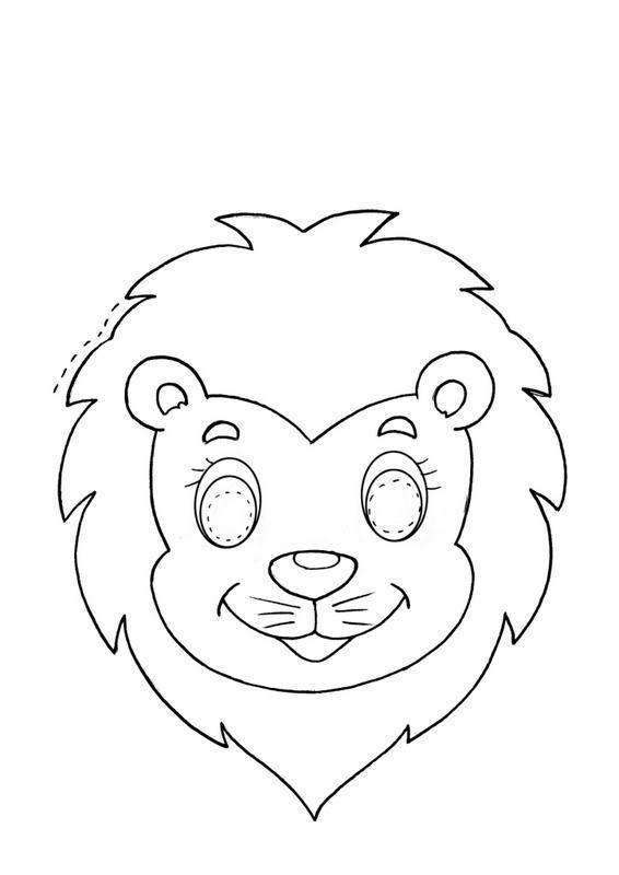 Zebra Masker Kleurplaat Menta M 225 S Chocolate Recursos Para Educaci 211 N Infantil
