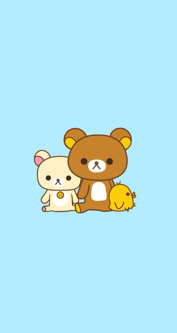 Cute rillakuma photo from wallpaper app Kartun, Seni