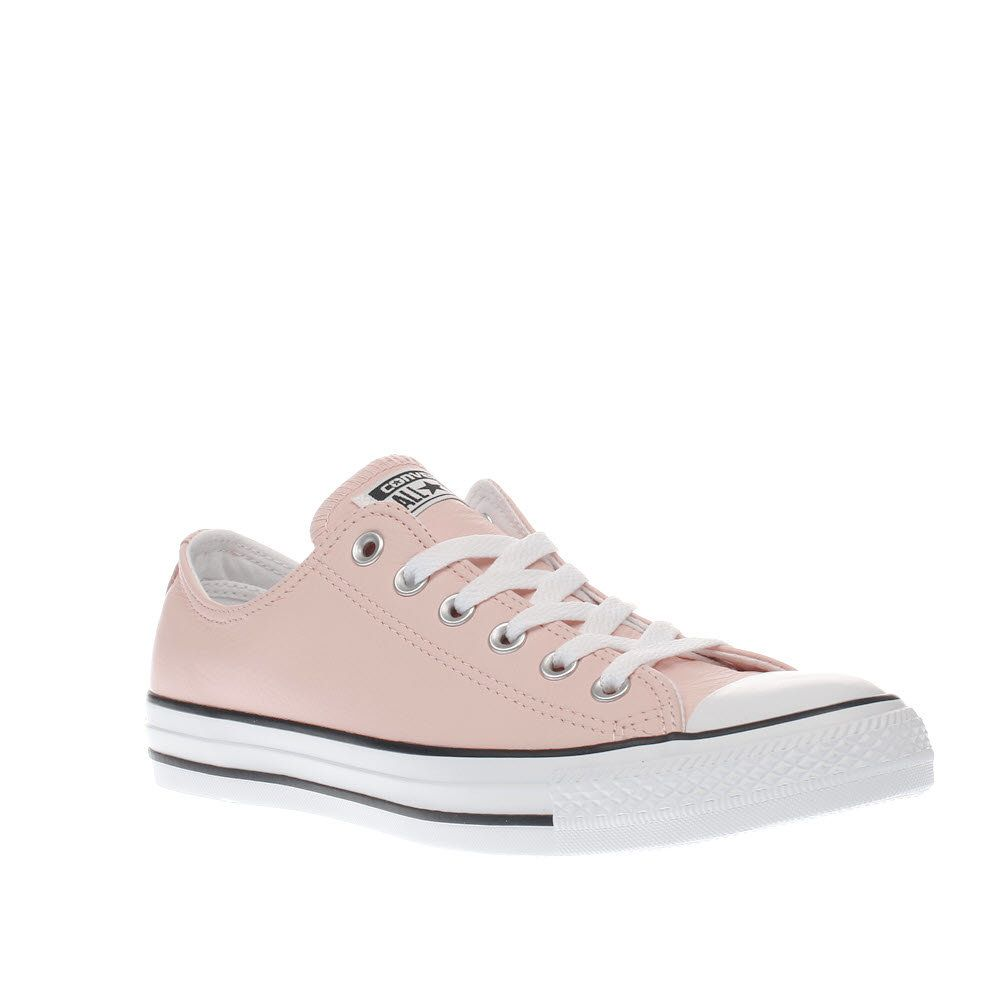 Converse All Star Low Leather Pale Quartz Egret Barely Rose