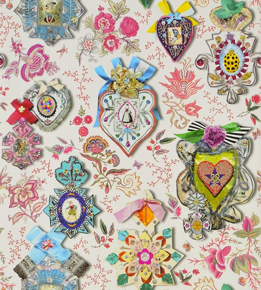 cocarde opiat wallpaper by christian lacroix pattern u0026 print