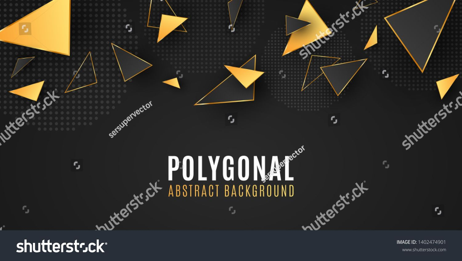 Abstract Geometric Shapes Stylish Background For Your Design