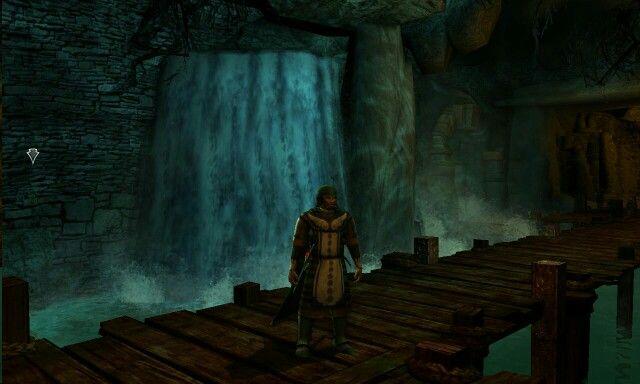 Inside a burrow , The Bone Vales , Dunland