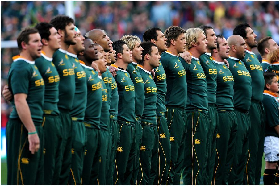 Google Image Result For Http Www Rugby15 Co Za Wp Content Uploads 2011 06 Springboks At Fnb Jpg Springbok Rugby South Africa Rugby Rugby