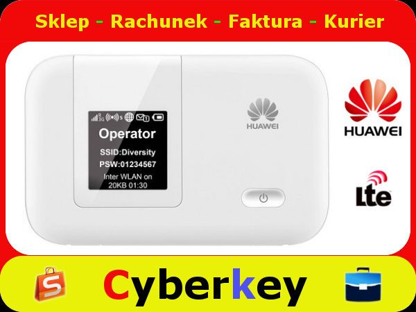 Router Modem Lte Huawei E5372s 32 3g 4g Wifi Hspa 5337098701 Oficjalne Archiwum Allegro Huawei Modem Router