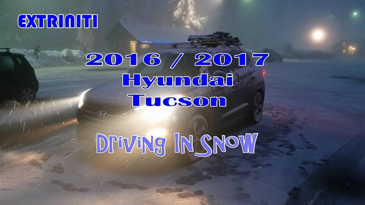 2016 / 2017 Hyundai Tucson 1.6T Limited AWD Driving In