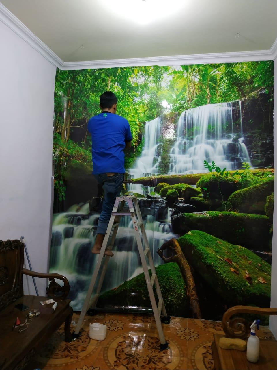 Pin Oleh Jasa Pasang Wallpaper Dinding Di