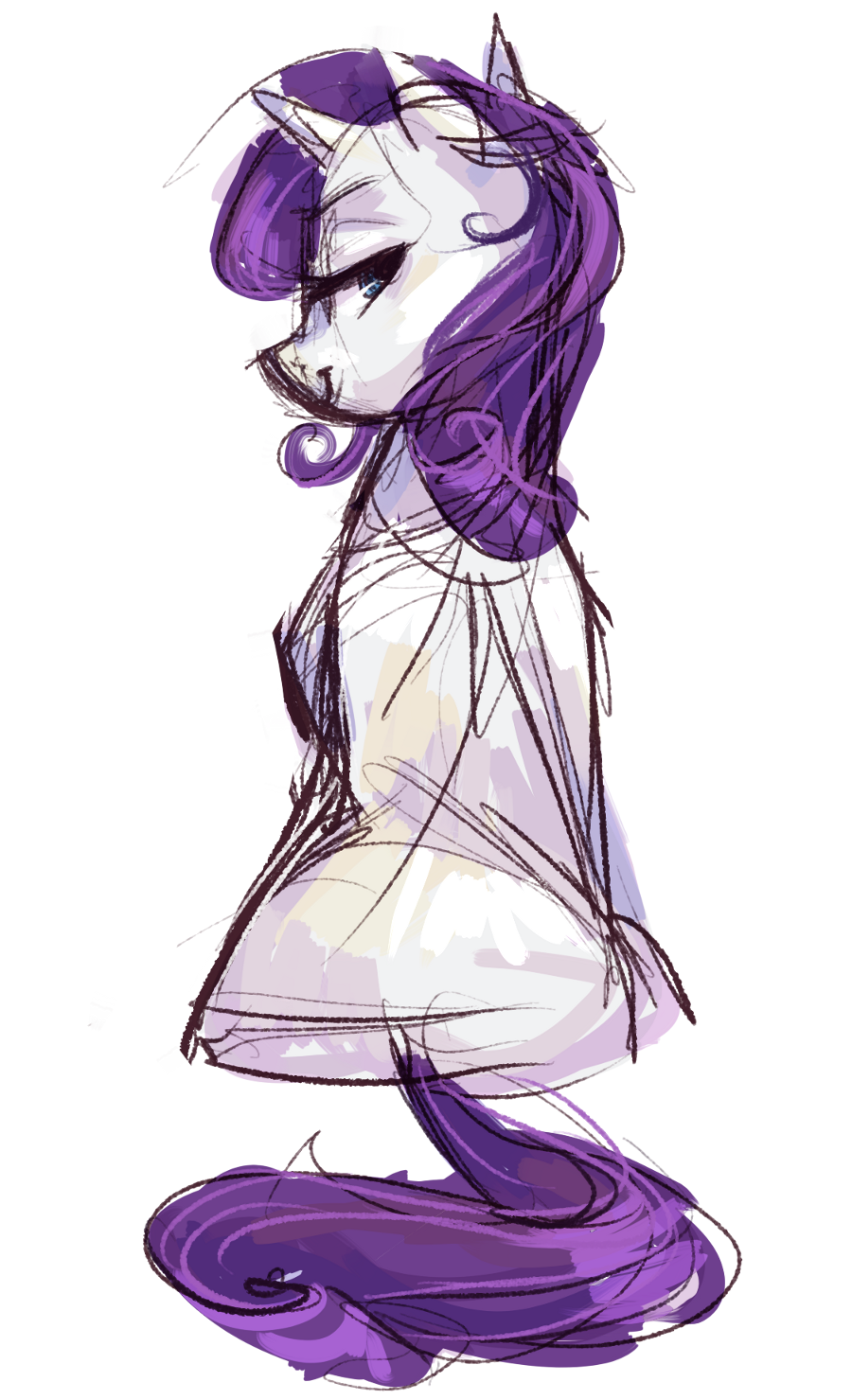 Rarity By Johling On Deviantart I Am A Lady And I Wish To Be
