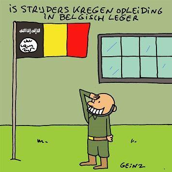 IS strijders werden opgeleid door Belgisch leger