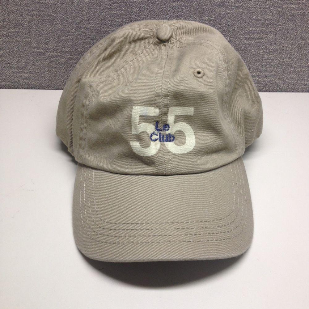 Le Club 55 Hat | Club 55, St Tropez in 2019 | Hats, Baseball hats, Club