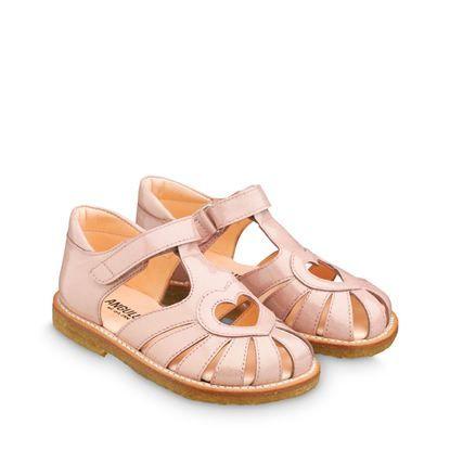 89a135d37050 ANGULUS SS14 Kids Sandals STYLE B5186 Light Rose