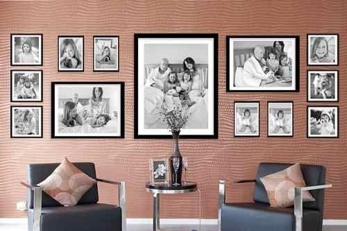 mural de fotos familiares - Buscar con Google Arte y Decoración