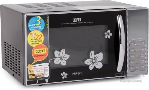 Ifb 25 L Grill Microwave Oven 25pg3b At Rs 6990 From Flipkart