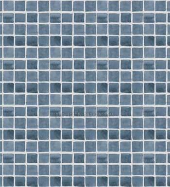 Papel pintado para ba os con gresite ideal texturas bathroom texture y diy - Papel pintado para banos sobre azulejos ...