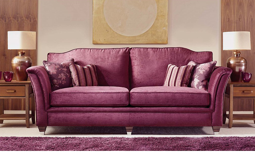 Pin by Kate Craine on Interior Design | Pinterest | Purple couch and ...