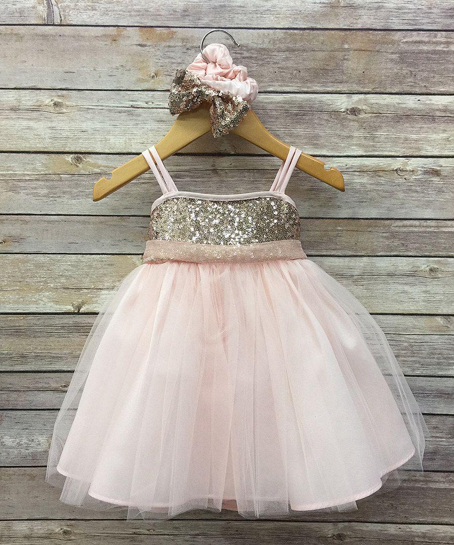 Look at this petite adele pink u blush glitter petite adele dress