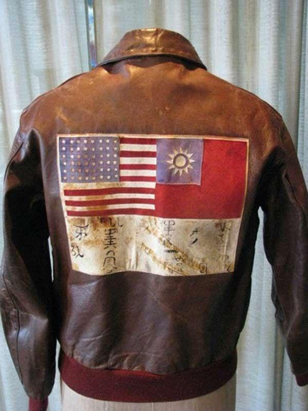 Type A 2 Leather Flying Jacket Wwii Bomber Jacket Retrowaste