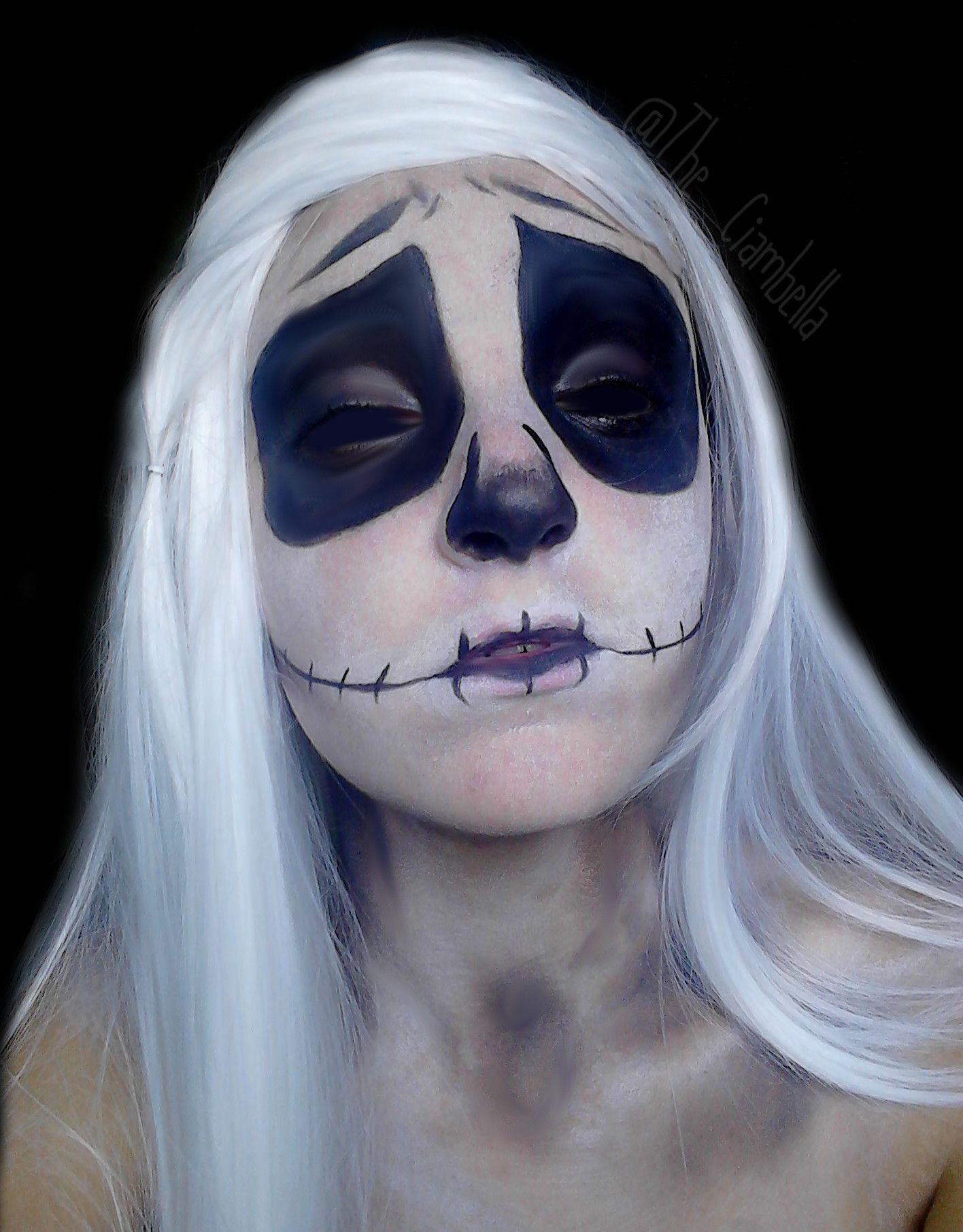 Jack Skellington Makeup D Makeup, Halloween face makeup