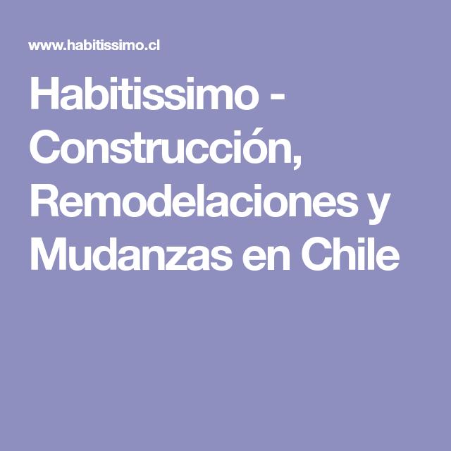 Habitissimo - Construcción, Remodelaciones y Mudanzas en Chile
