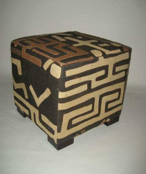 Kuba Cloth Cube | Trunks Ottomans And Benches | Furniture