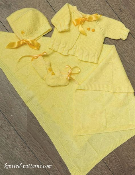 Newborn Layette Knitting Patterns Free Knit For Babies And Kids
