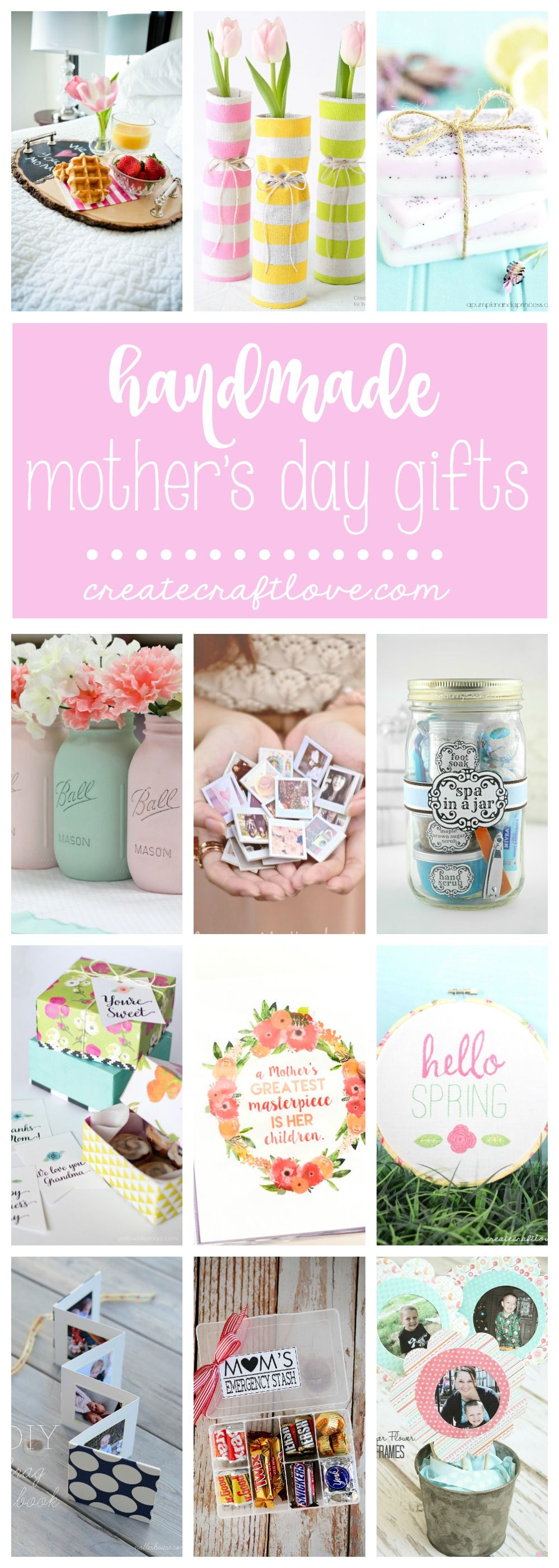 Handmade Mothers Day Gifts Diy Gifts For Mothers Diy Gifts Love