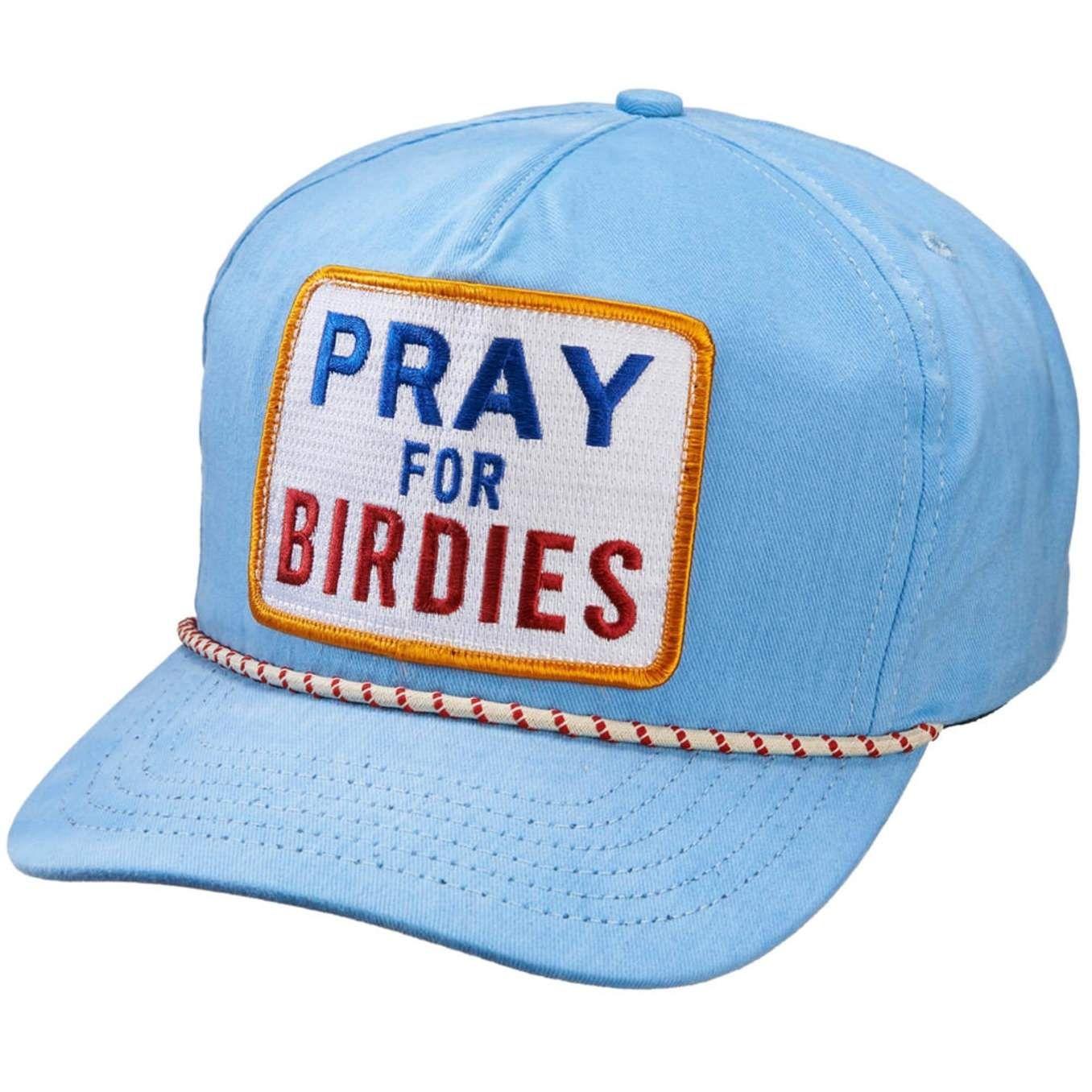 fc3493b5 Pray for Birdies Strap Back Cap Sky - 2016 | Jeremy Mitchell | Hats ...