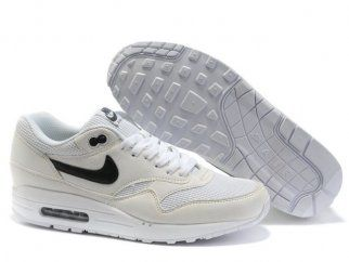 Repelente Turbina Avanzado  Nike Air Max Trainers 1 Men White/Black QASE2886 | Nike air max 87 ...
