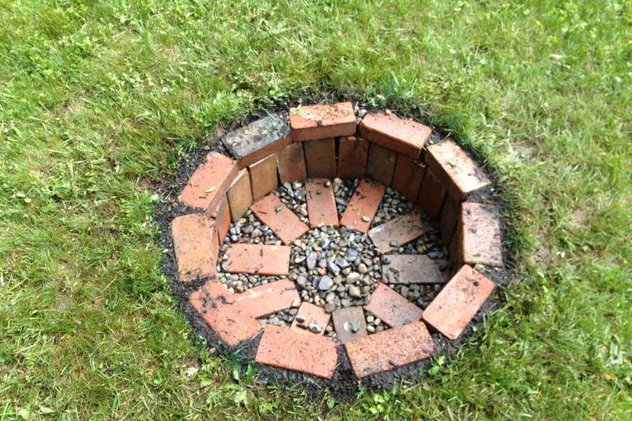 Cheap Easy Homemade Fire Pit | Fire Pit Landscaping Ideas, Design, Pictures  And Remodel