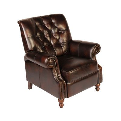 Lazzaro Leather Recliner Tufted, Lazzaro Furniture Reviews