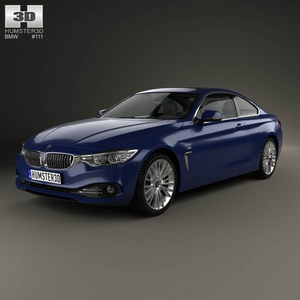BMW Series F Coupe Luxury Line D Model From Humsterd - Bmw 4 series models