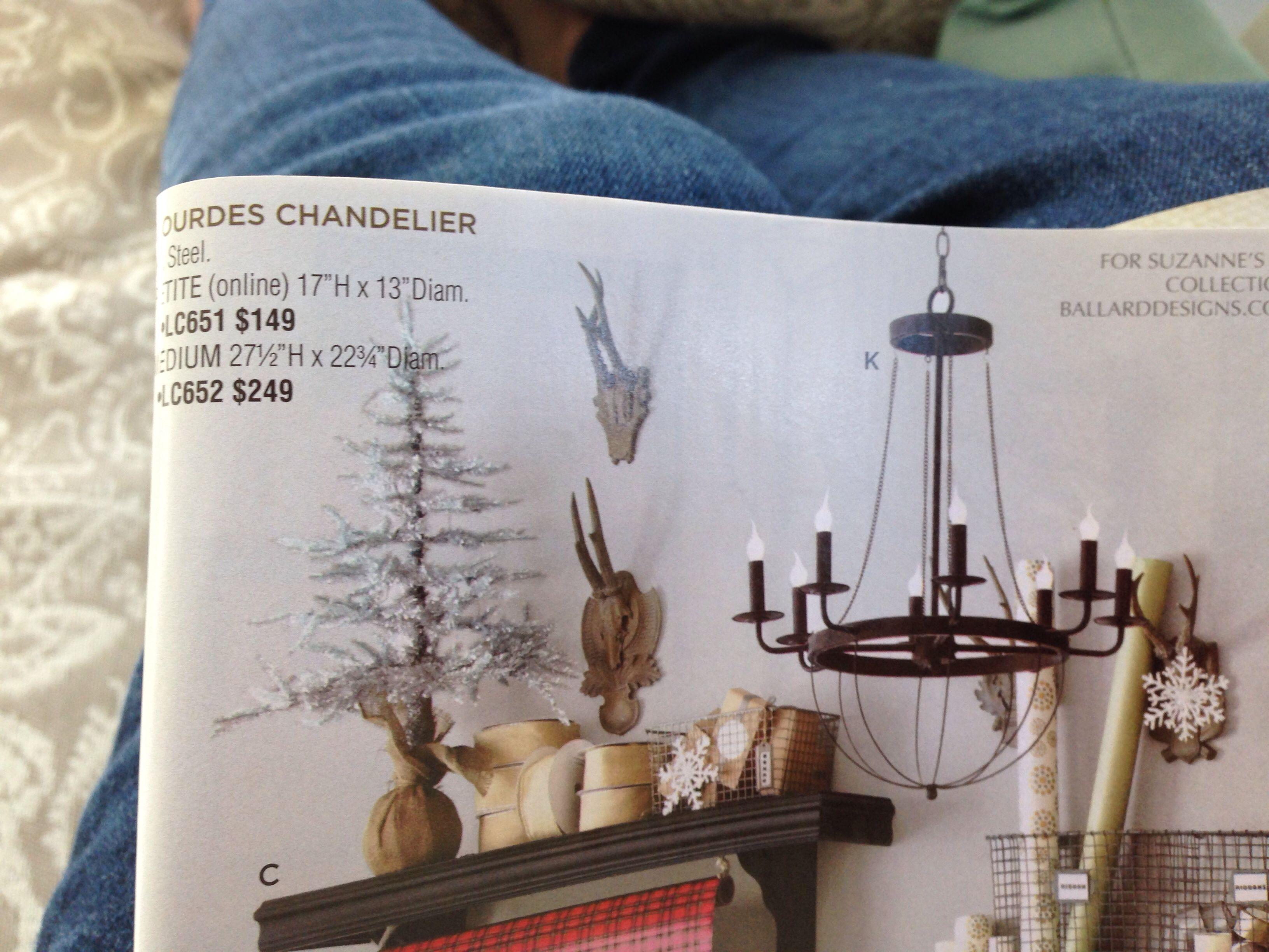 Pottery barn celeste chandelier - Lourdes Chandelier Ballard