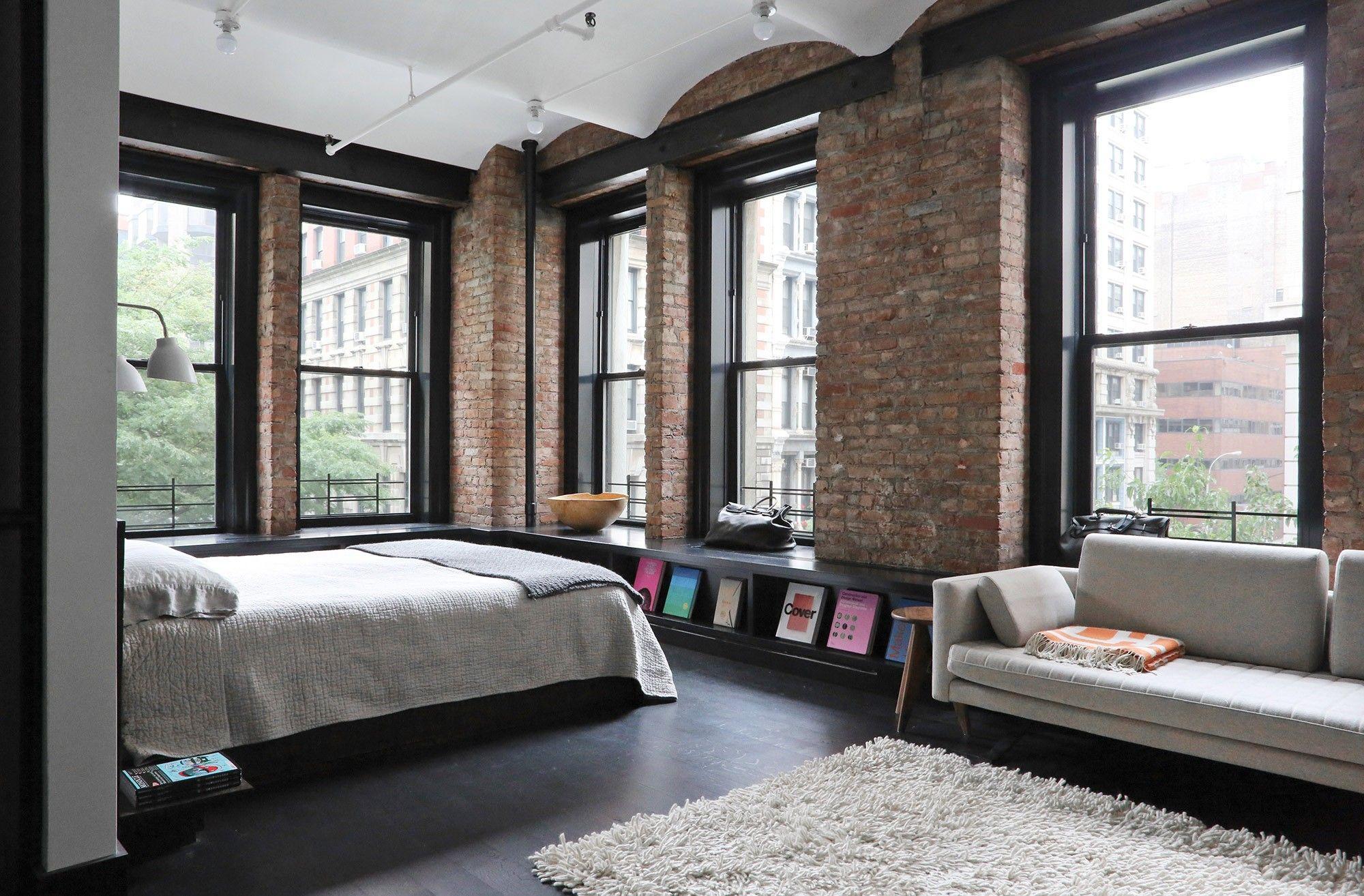 Great Jones Loft par Union Studio Chambre loft
