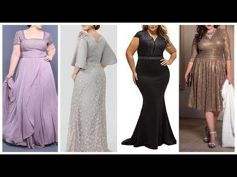 فساتين سهرة للأجسام الممتلئة موديلات فساتين سواريه للبدينات فساتين سهرة للسمينات الجميلات Youtube Bridesmaid Dresses Dresses Wedding Dresses