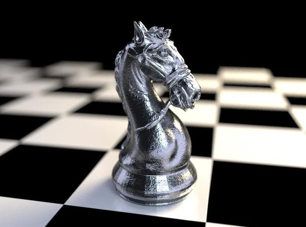 3d Model Knight Chess Piece Knight Chess Chess Pieces Classic Chess Set