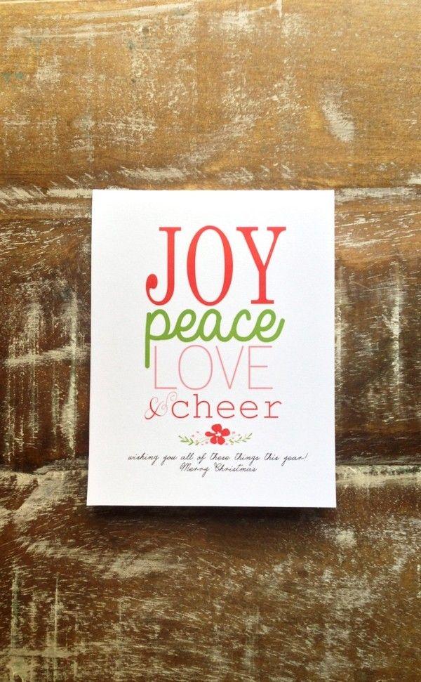 2013 Vintage Joy Christmas Greeting Card, Easy Made Christmas Greeting Card, Vintage Christmas Card In Handmade #2013 #christmas #vintage #greeting #card www.loveitsomuch.com