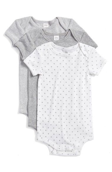 8eff95f3e2bc Nordstrom Baby Cotton Bodysuits (3-Pack) (Baby) available at ...