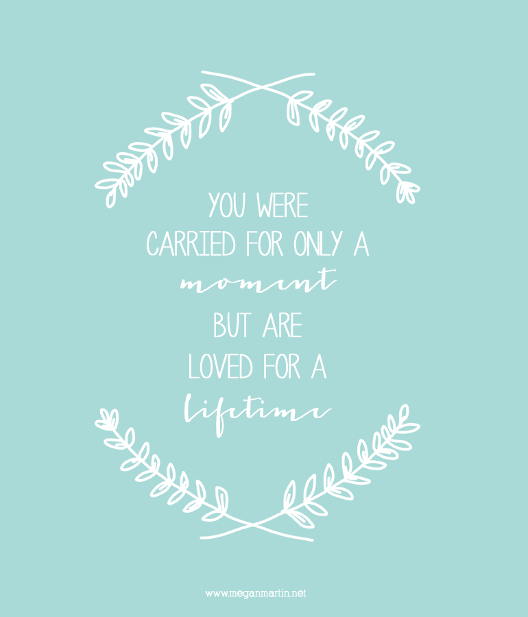 For The Little One Lost Miscarriage Miscarriage Quotes Fascinating Pregnancy Loss Quotes