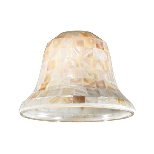 Design Classics Lighting Mosaic Bell Glass Shade Lipless With 1