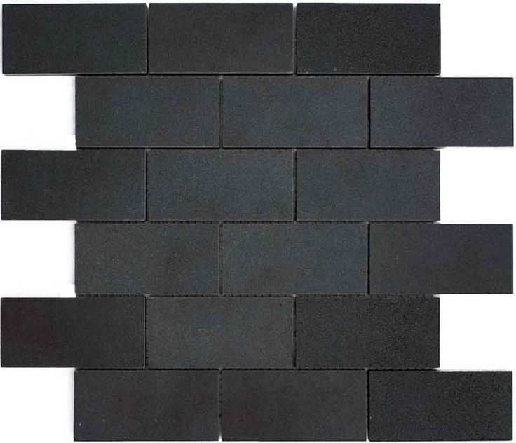 Matte Black Subway Tile Google Search Basalt Tile Black Subway Tiles Black Stone Tile