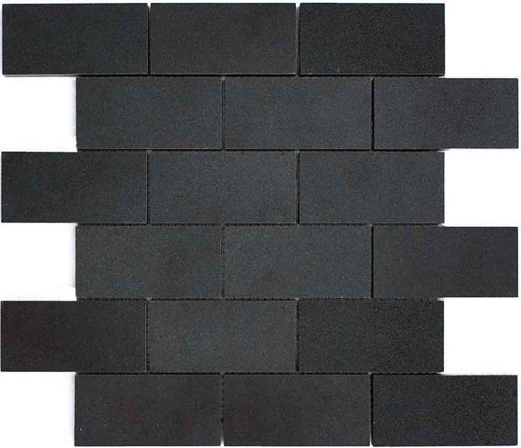 matte black subway tile google search